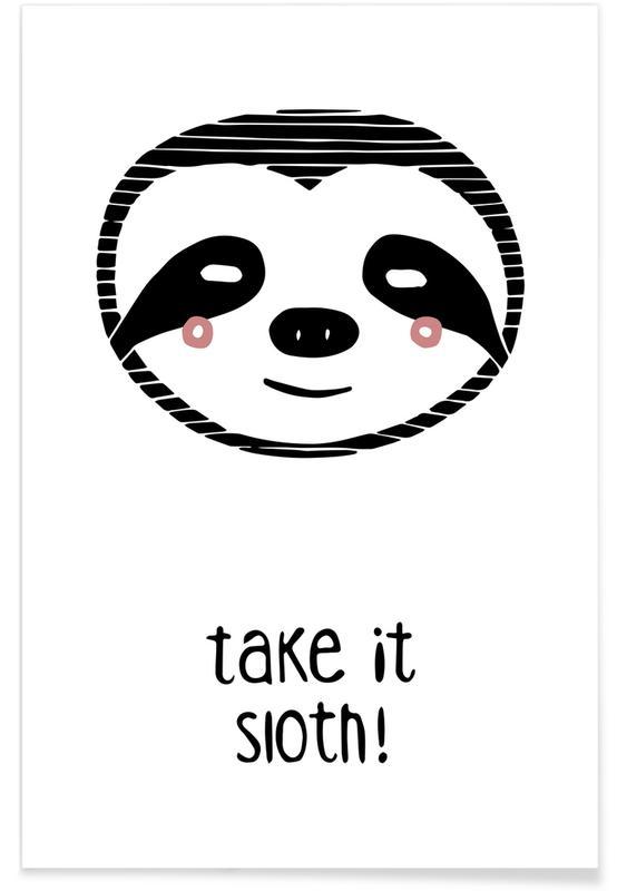 Take it Sloth! -Poster