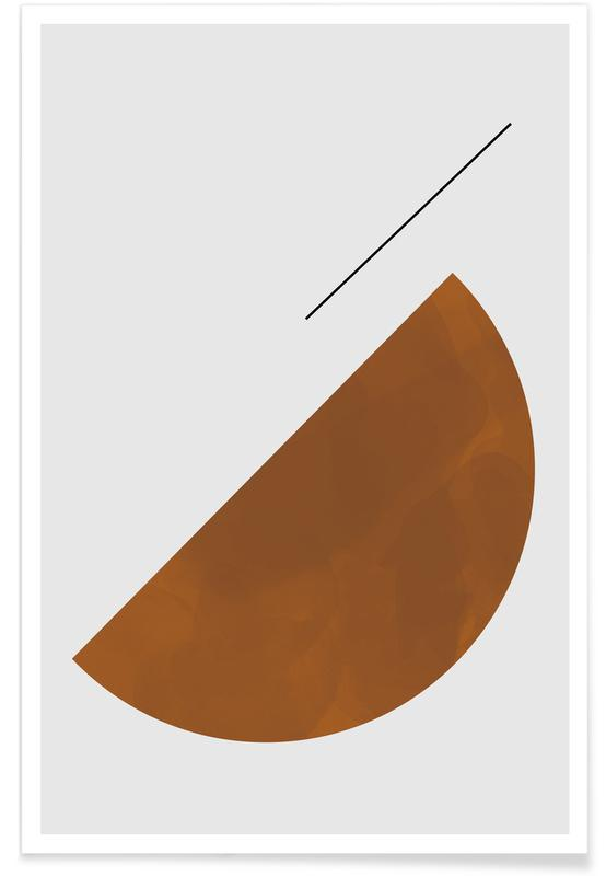 Half Cookie Poster