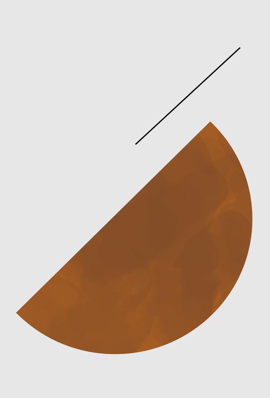 Half Cookie -Acrylglasbild