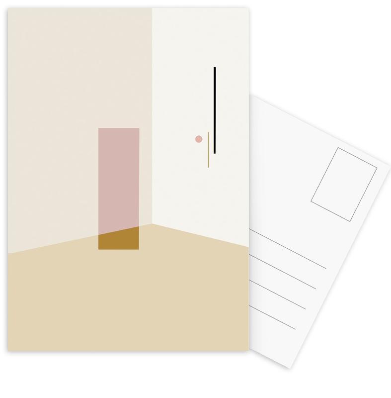 Separated 2 cartes postales