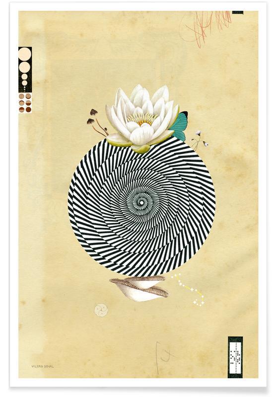 Wonderful Lotus Flower World poster