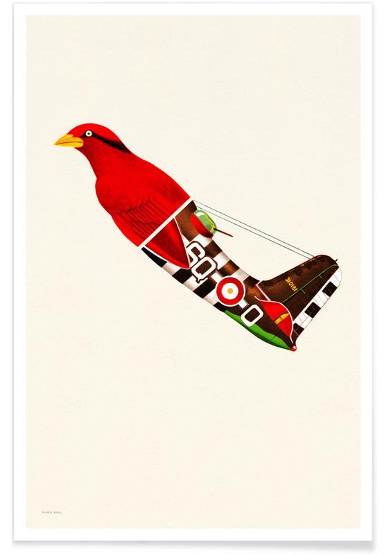 Red Bird Plane affiche