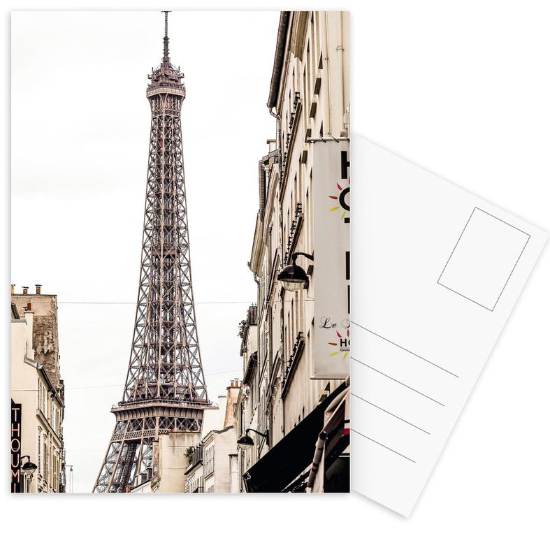 Street View Paris Postcard Set