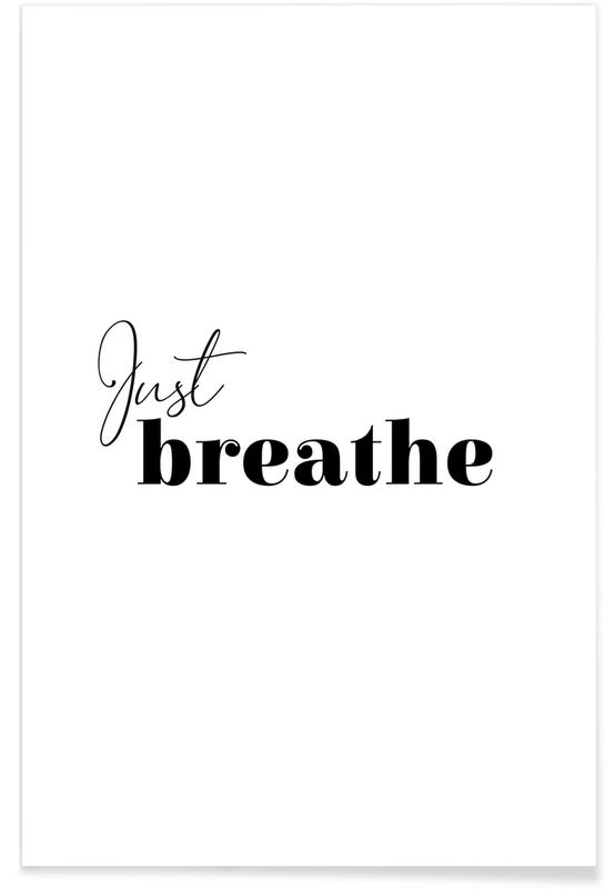Yoga - Just Breathe Poster