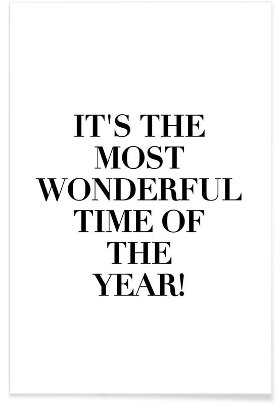 Wonderful Time Of The Year Poster
