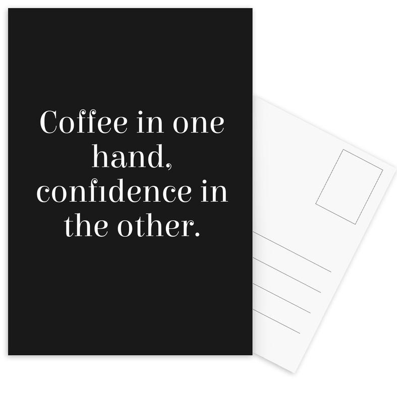 COFFEE IN ONE Postcard Set