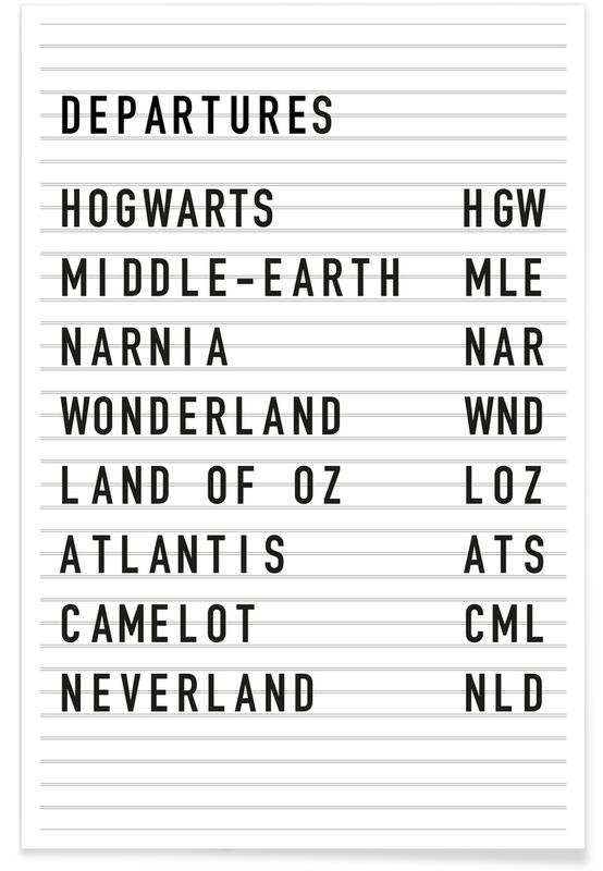 Fantasy Destinations Poster