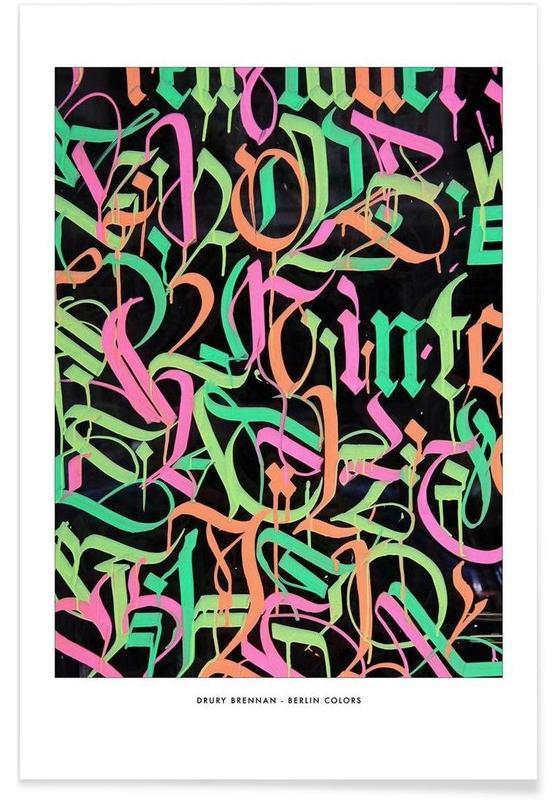 Berlin Colour Poster