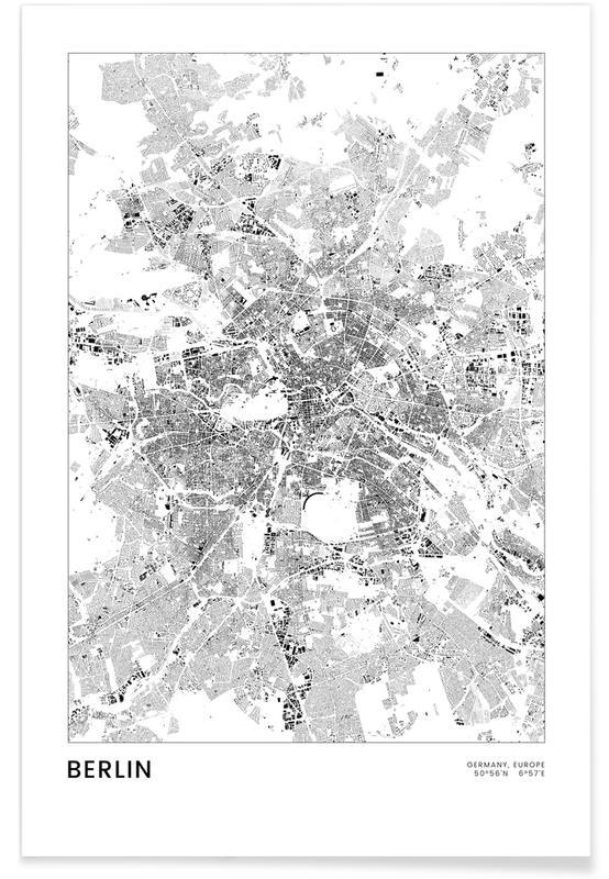 Berlin Map Poster