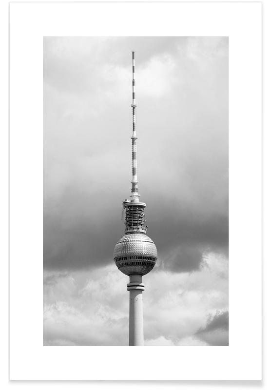 Alexanderplatz, Berlin Icons -Poster