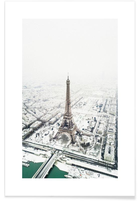 Paris in Winter -Poster