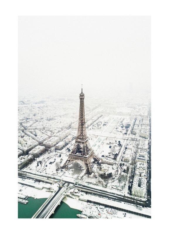 Paris in Winter toile