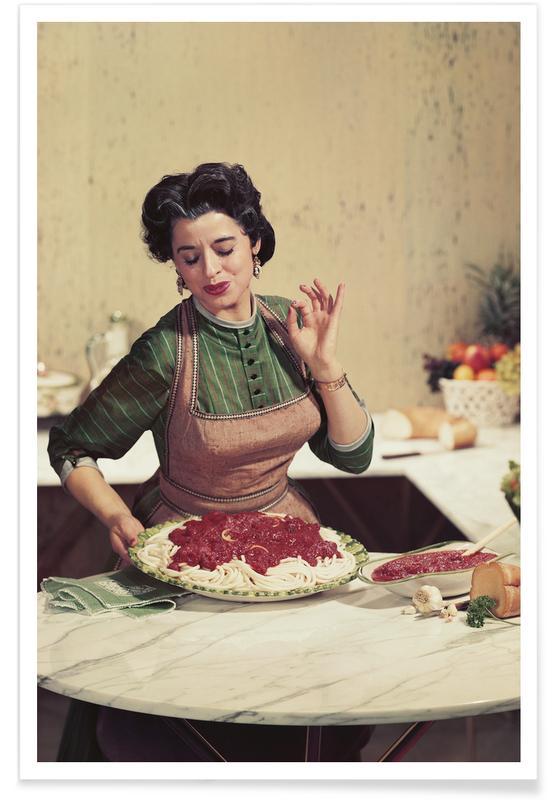 Italian Kitchen Poster