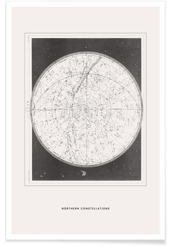 Northern Constellations Poster