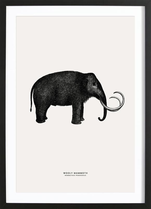 Mammoth Poster i träram