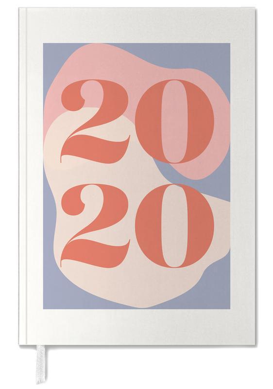 2020 Typography -Terminplaner