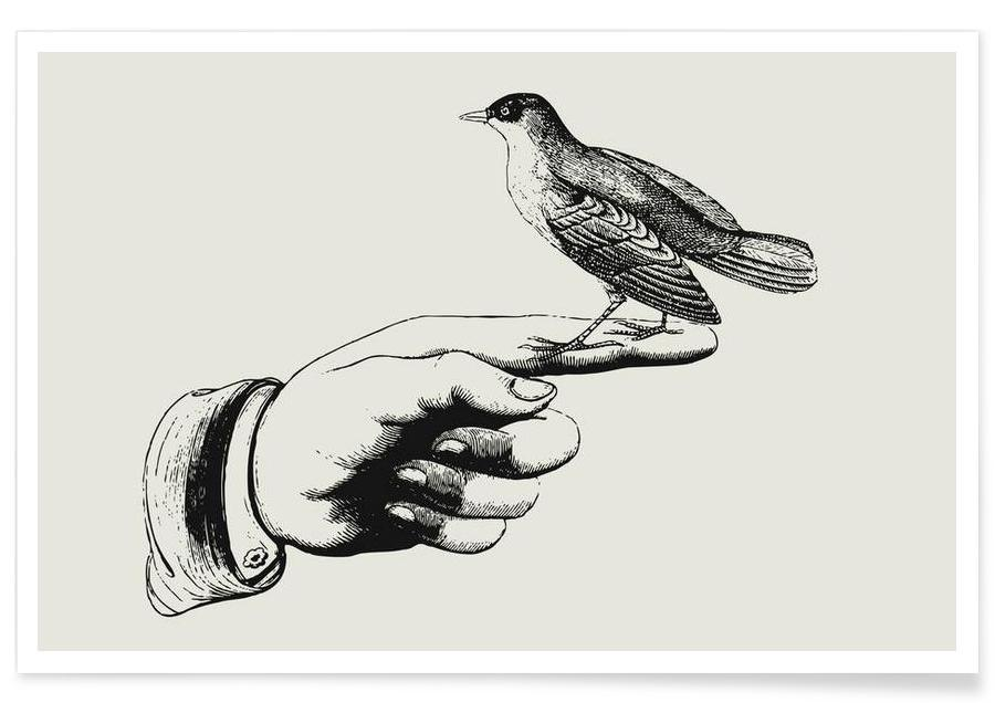 Bird in the hand Poster