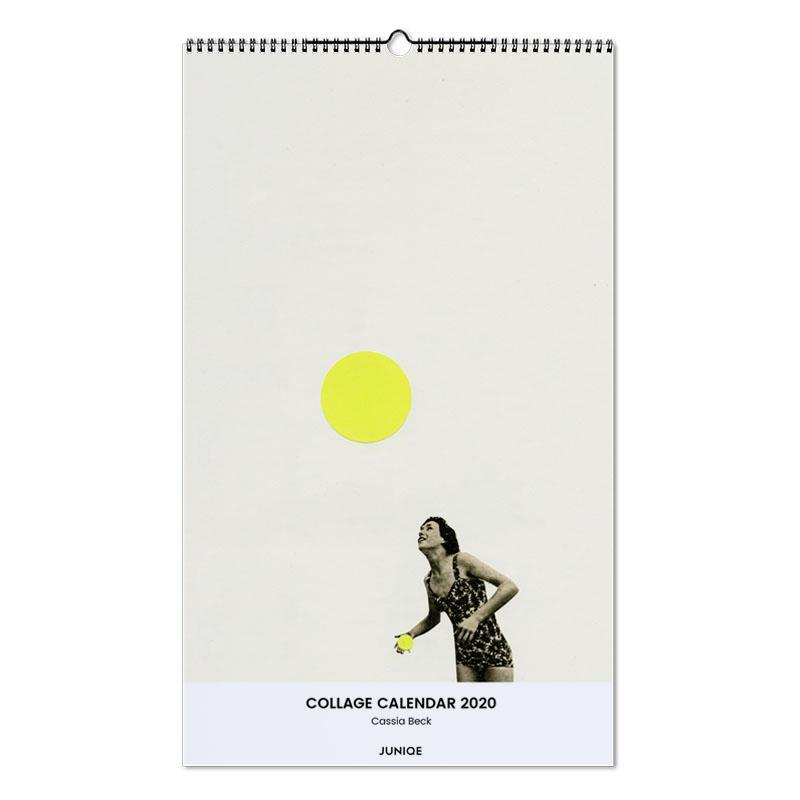 Collage Calendar 2020 - Cassia Beck Wall Calendar
