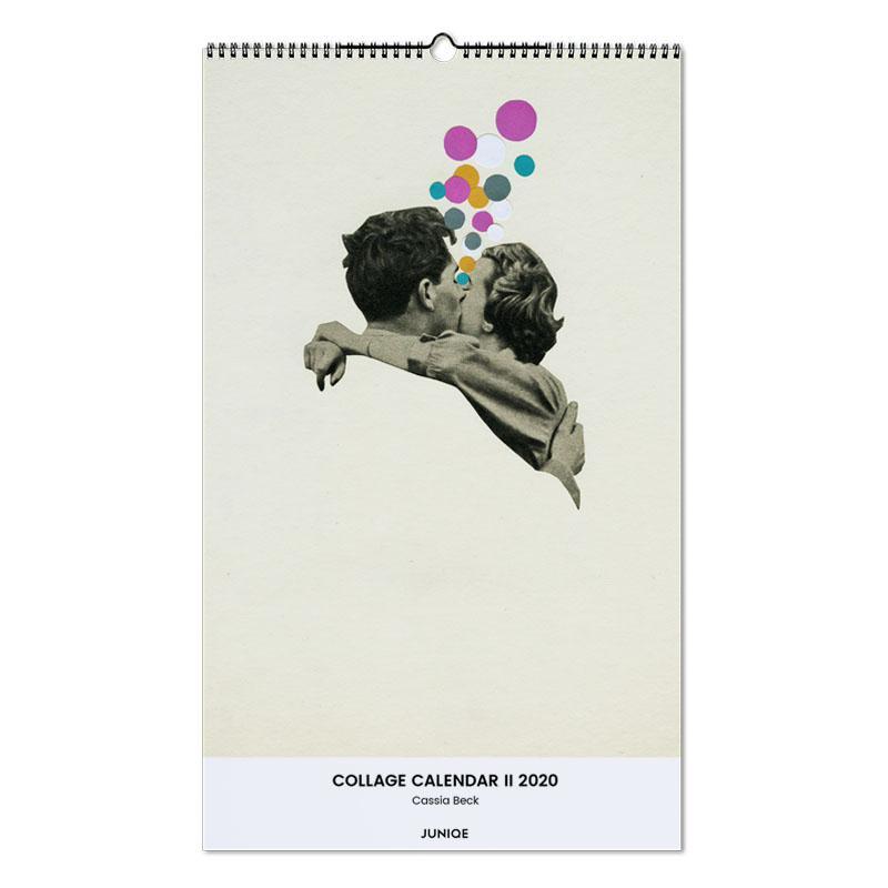 Collage Calendar II 2020 - Cassia Beck -Wandkalender