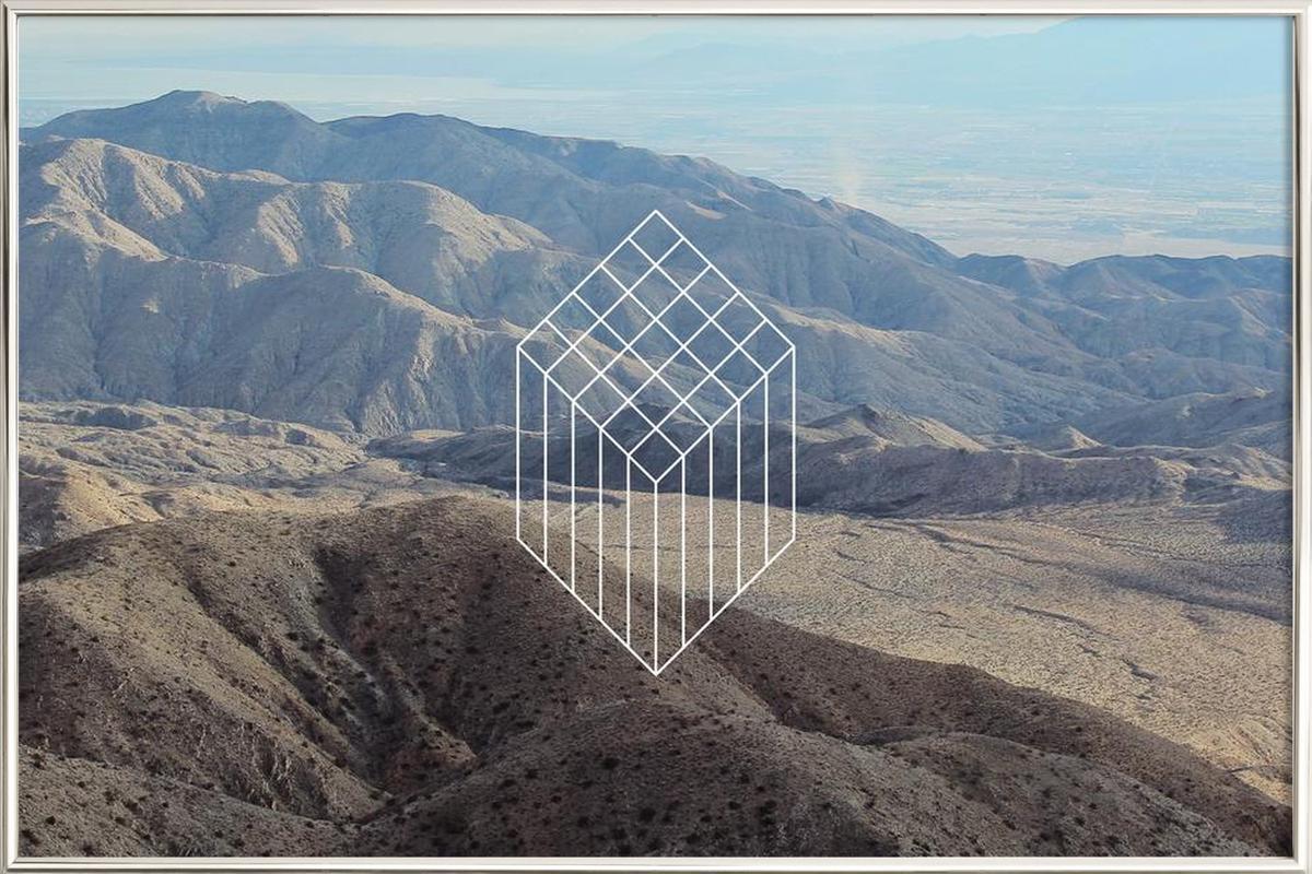 Coachella Poster in Aluminium Frame