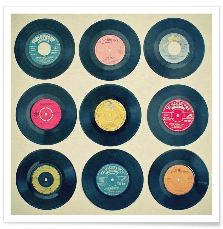 Vinyl collection affiche