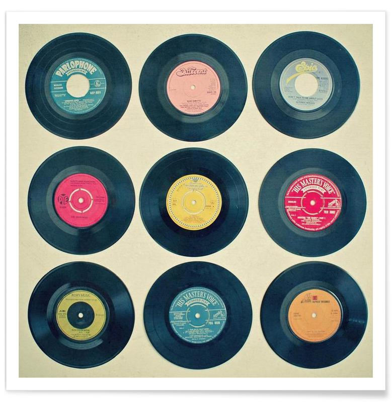 Vinyl collection poster