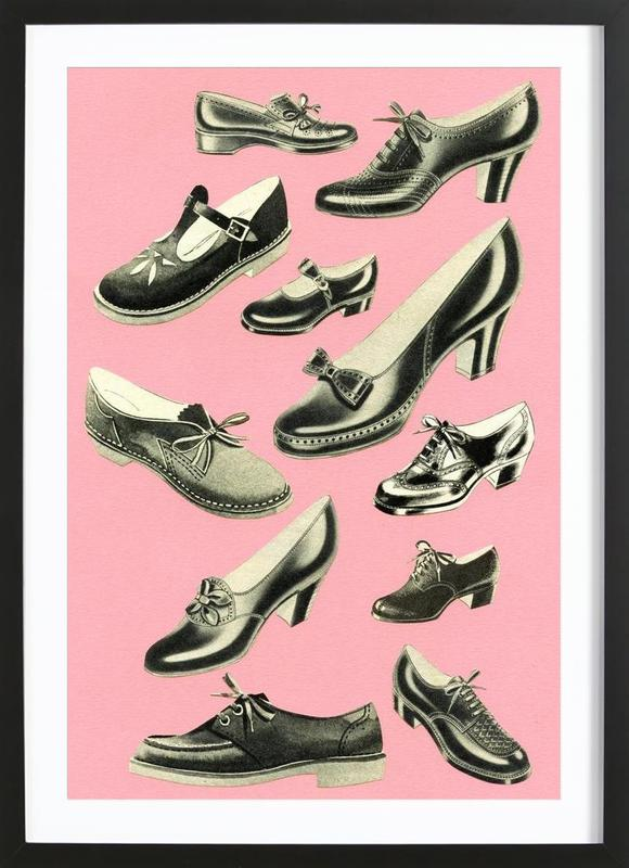 Shoe Fetish Framed Print