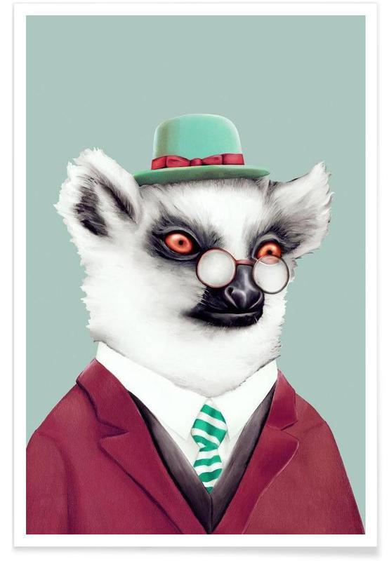 Lemur affiche