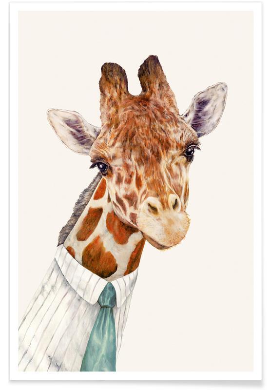 Mr Giraffe affiche