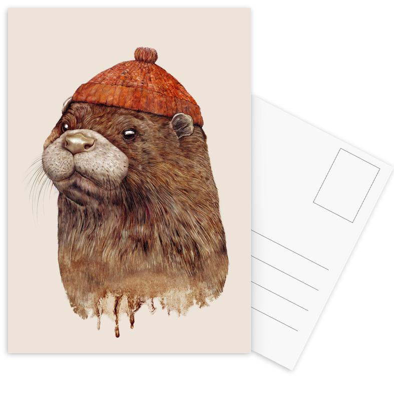Otter Postcard Set