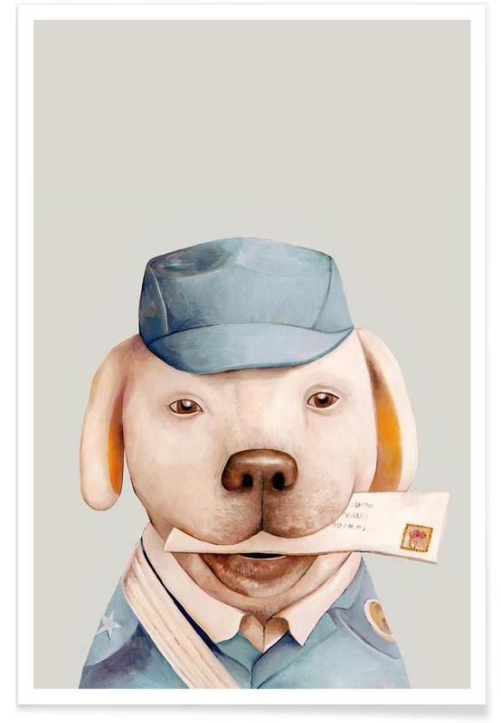 Delivery Dog -Poster