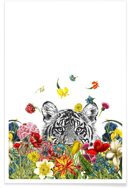 Happy tiger Poster
