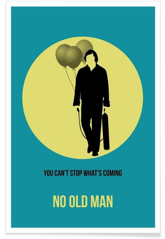 No Old Man Poster 3 affiche