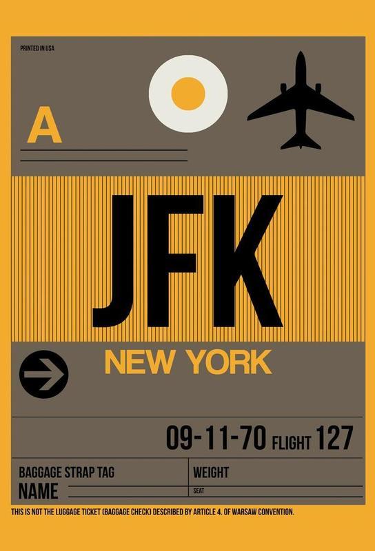 JFK-New York Acrylic Print
