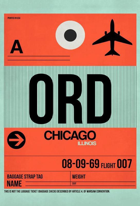 ORD-Chicago acrylglas print