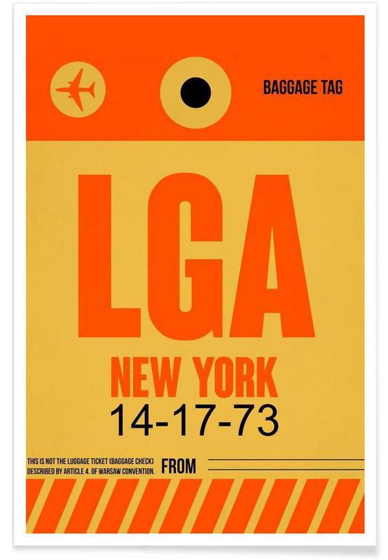 LGA-New York -Poster