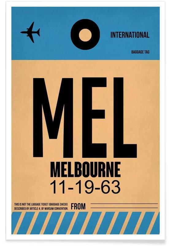 MEL-Melbourne -Poster