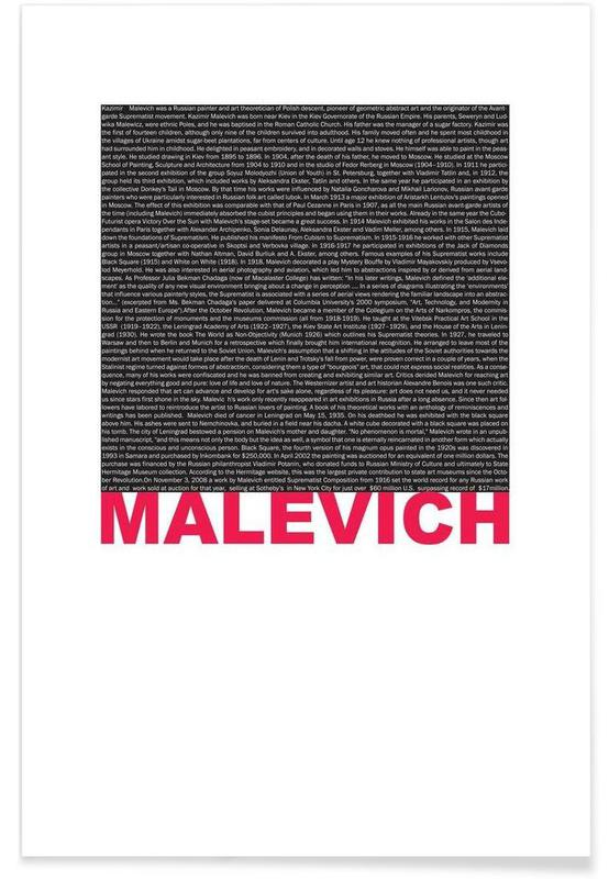 Kasimir Malevich -Poster
