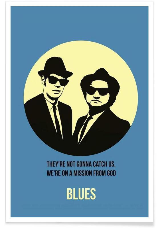 Blues Poster 2 affiche