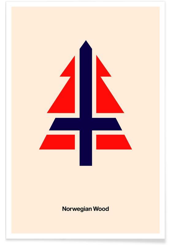Norwegian Woods Poster