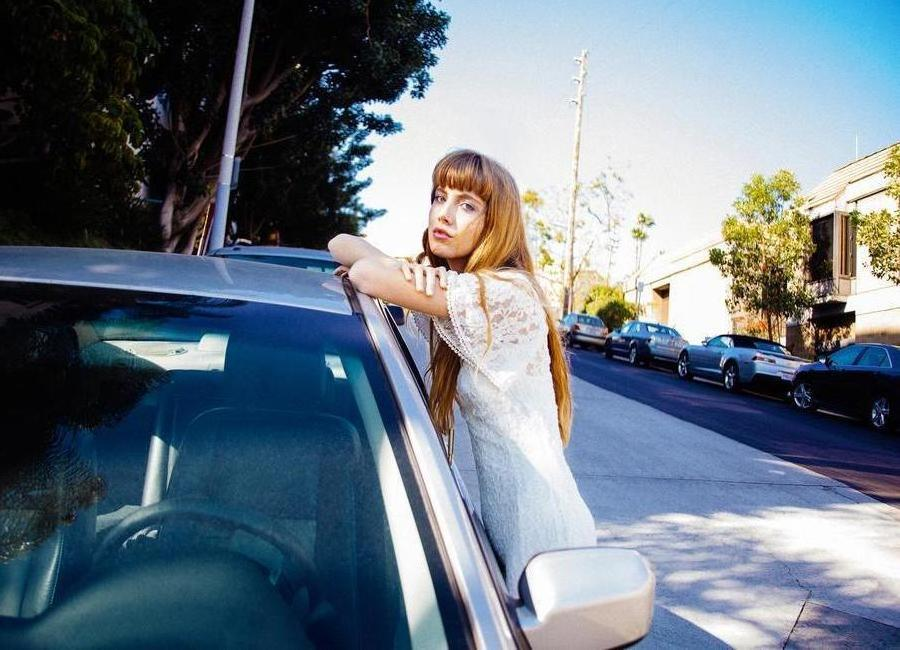 Cars in Echo Park -Leinwandbild