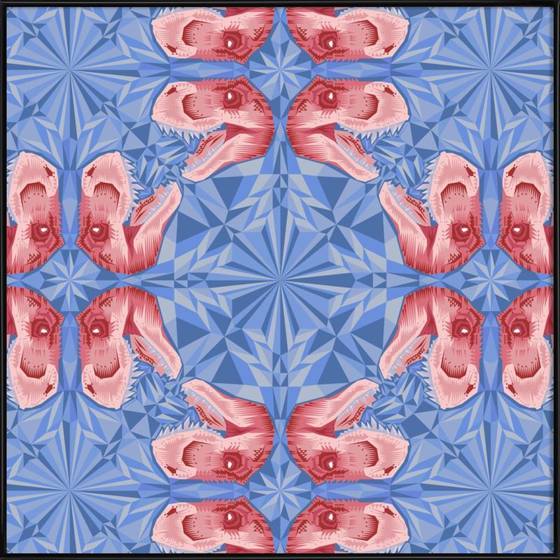 Trex Serenity Quartzrose -Bild mit Kunststoffrahmen