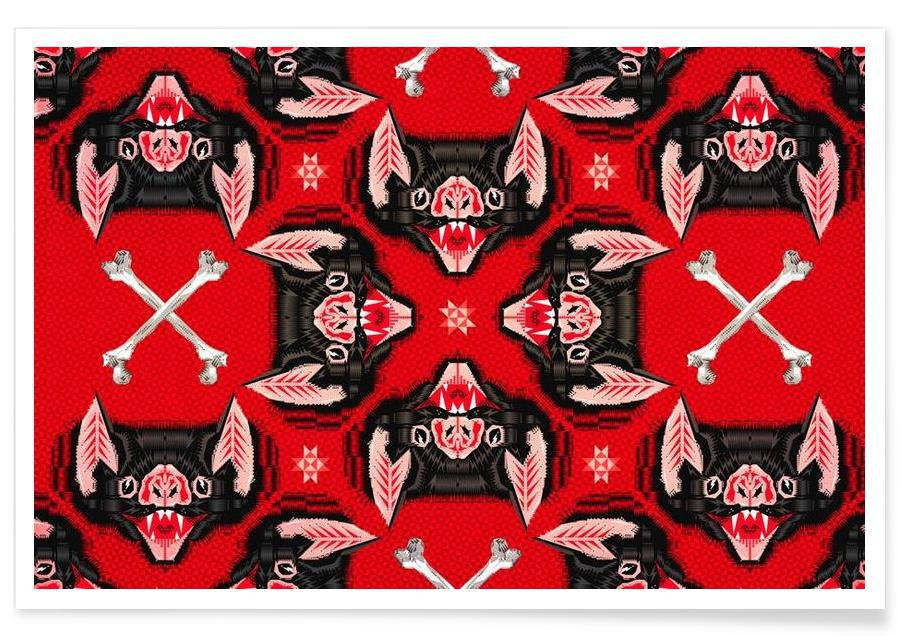 Batface Pattern affiche