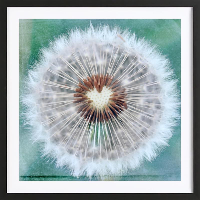 Dandy Heart -Bild mit Holzrahmen